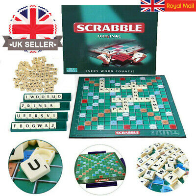 Family Original Scrabble Game Kid Adult Educational Learning Party Game Board A+