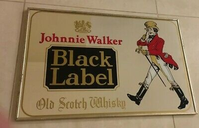 Johnnie Walker Bar Mirror