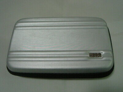 Jal Japan Airlines Zero Halliburton Business Class Amenity Goods Bag Only Silver