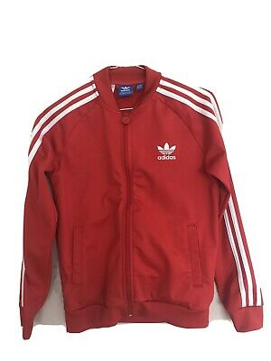 Adidas Tracksuit Top Immaculate Condition Age 11/12 Youth