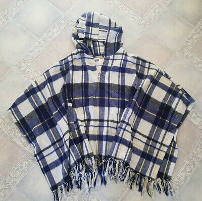 Quicksilver One Size Fits All, 50% Wool Poncho / blanket coat
