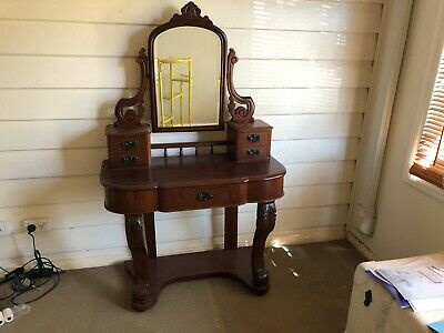 Victorian ChIld's Dressing Table - beautifully restored antique