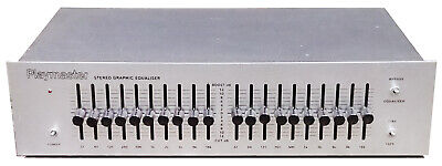 Vintage Playmaster Stereo Graphic Equaliser - Aussie