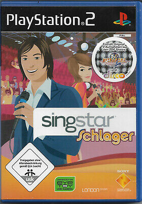 SingStar: Schlager (Sony PlayStation 2, 2008, DVD-Box) sehr gut