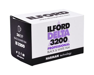 1 Roll ILFORD DELTA 3200 B&W NEG Film--35mm/36 exp--ULTRA FRESH--expiry: 04/2020