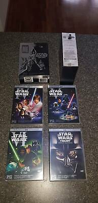 Star Wars Trilogy - Episodes IV, V and VI - DVD Box set - new conditio