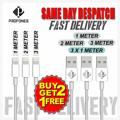 Genuine ProFone Lightning Sync & Charger USB Data Cable For Apple iPhone 8 7 6