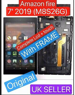 Original Amazon Kindle Fire 7 2019 Lcd Complete Screen display M8S26G ALEXA