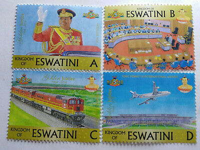 New Eswatini stamps (50th Annivesary)