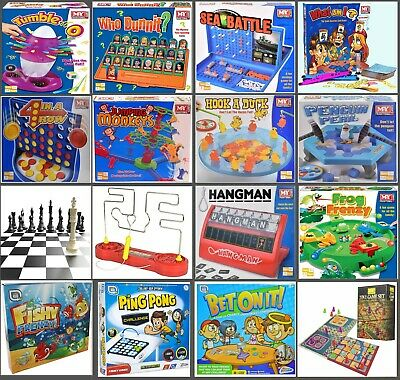 Traditional Classic Modern Full Size Family Childrens Kids Board Games Boardgame