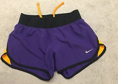 Girls Nike Shorts Purple Black Size M Age 10-12