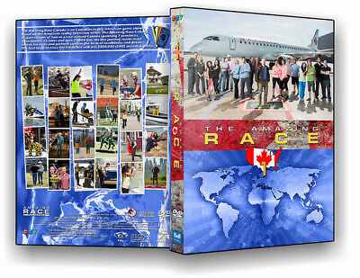 The Amazing Race Canada The Complete First Season ( 1 )