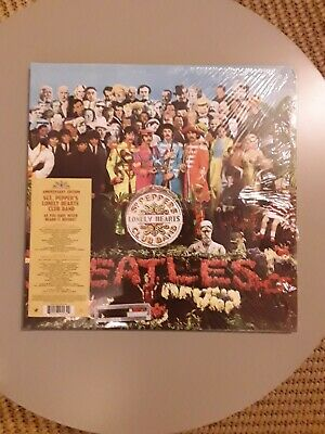 THE BEATLES Sgt Pepper 2 LP 180gm Vinyl 2017  50th ANNIVERSARY EDITION