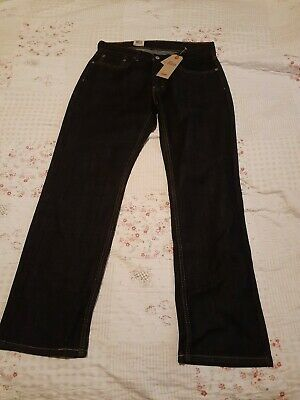 NEW Levi's 559 Jeans Size 33x32 Dark Blue Mens Relaxed Straight Denim RRP $59.50