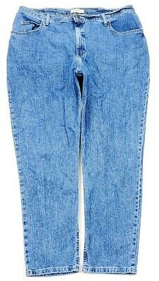 Riders By Lee Womens Relaxed Jeans Plus Size 22W
