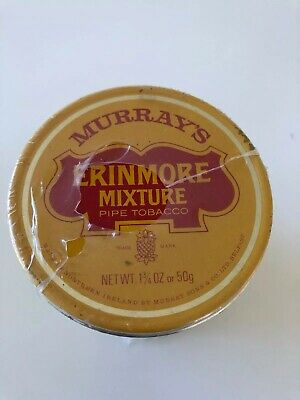 Murray's Erinmore Mixture Pipe Tabacco Tin X 1. Unsused and Unopened