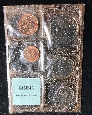 Zambia 1968 Proof Set