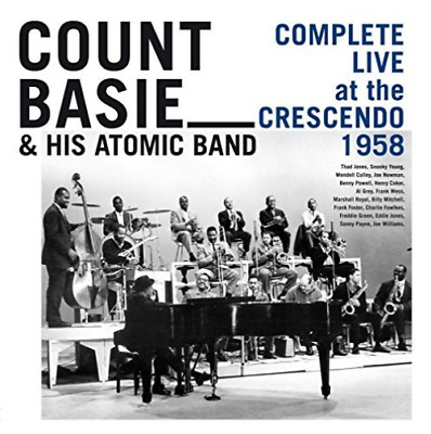 BASIE, COUNT & HIS ATOMIC BAND-Complete Live at The Crescendo 1958 (5CD)  CD NEW
