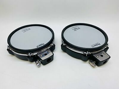 "Pair of Roland PDX-100 10"" Mesh Snare Tom Pad PDX100"