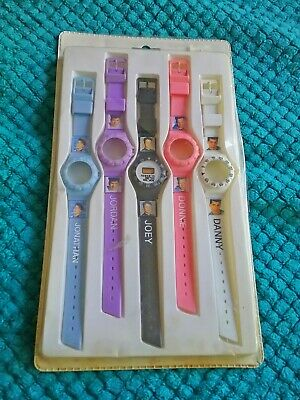 New Kids on the Block Mix n Match Watch Complete Set 1990 MINT RARE