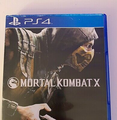 Mortal Kombat X Sony PlayStation 4/Ps4 Spiel !!! Top !!!
