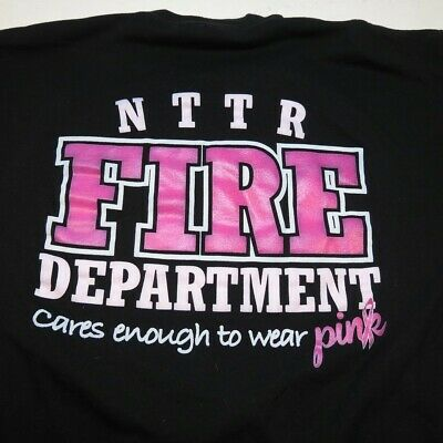 NTTR FIRE DEPT Nevada Test and Training Range NELLIS AIR FORCE BASE T SHIRT XL