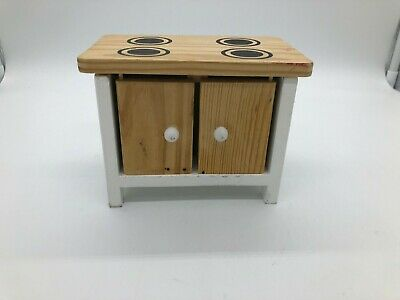Wooden Dolls House Stove