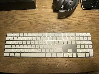 Apple Magic Keyboard with Numeric Pad - US English - Silver