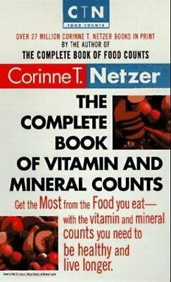 The Complete Book of Vitamin and Mineral Counts (Dell Women's Health)