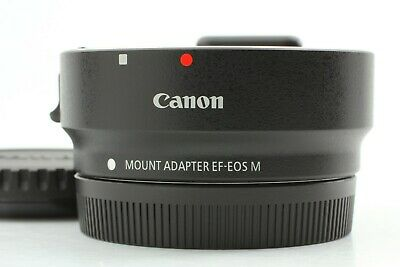 【Mint】Canon Original Mount Adapter EF-EOS M Black From Japan #019
