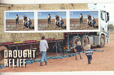 2019 Drought Relief special miniature sheet. Ex year album MUH. Scarce & cheap