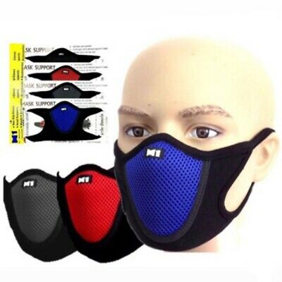 Fitness Anti Dust Motorcycle Bicycle Cycling Ski Half Face Shield PM 2.5 UK-SALE