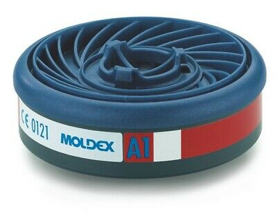 MOLDEX A1 Gas & Vapour Cartridge for the 8000 series mask - 10 filters -5 pairs