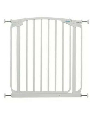 Dreambaby Swing Closes Security Gate  - White Extends Up To 2.82m