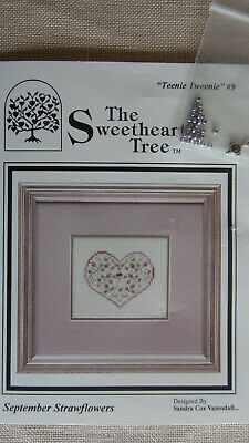 "Sweetheart Tree""Teenie Tweenie"" #9 September Strawflowers+charm"
