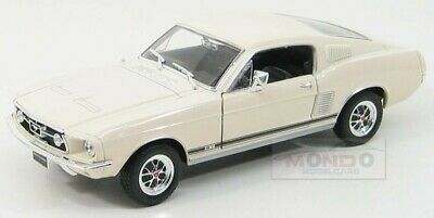 Ford Usa Mustang Gt Coupe 1967 Ivory Welly 1:24 WE22522IV