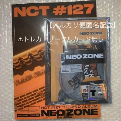 NCT 127 - NCT #127 Neo Zone [T ver] CD+Photobook+On Pack Poster+Gift F/S