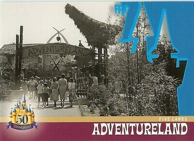 #DL-105 Tomorrowland Disneyland 50th Anniversary 2005 Five Lands Trading Card