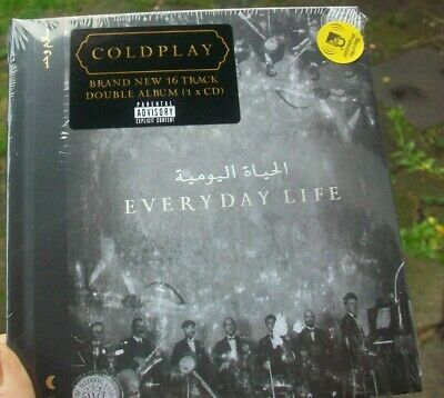Everyday Life by Coldplay (2019, Audio CD)BRAND NEW & SEALED