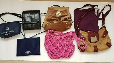 Job Lot Assortment of Ladies Handbags - damaged