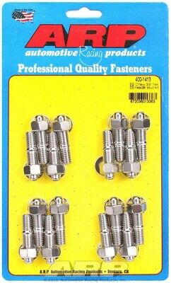 ARP Header Stud 1.670 in Hex Nuts Polished BBC 16 pc P/N 400-1413