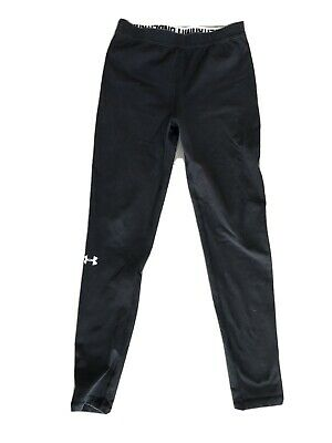Under Armour Black Leggings 12-13 Years