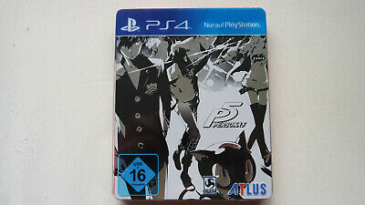 P5 Persona 5 Steelbook Limited Edition PS4 / Playstation 4