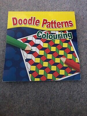 Doodle Patterns Colouring Book for all Ages