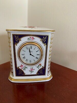 Spode Cabinet Collection Clock