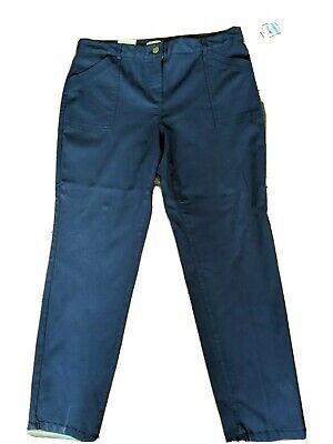 New Women's Style Co Utility Skinny Pants Industrial Blue 16