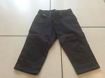 Girls Zara Navy Cropped/Capri Trousers age 4-5
