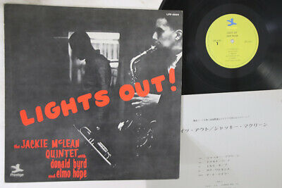 LP JACKIE MCLEAN QUINTET Lights Out! LPR8899 PRESTIGE JAPAN Vinyl