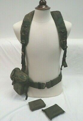 Vietnam Australian Army DPCU Harness magazine mag pouch Belt chest Rig bandages