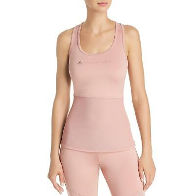 Adidas Stella McCartney Womens Pink Fitness Yoga Tank Top Athletic M BHFO 4834